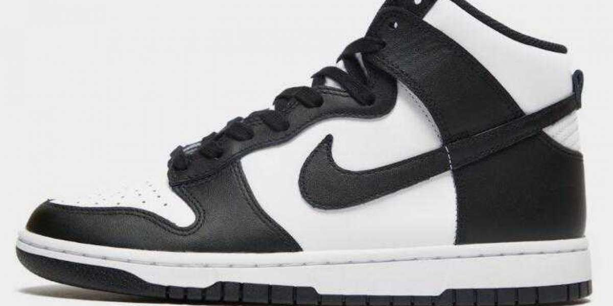 2021 Nike Dunk High Unveils the Classic Black and White Colorways